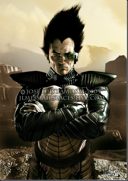 A picture of the anime character VEGETA (DRAGONBALL Z).